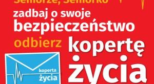 Wielkopolskie: władze Wągrowca zachęcają seniorów do odbioru ''Koperty życia''