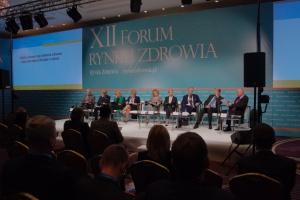 XII Forum Rynku Zdrowia: sesja plenarna, czyli więcej niż spór o słowa