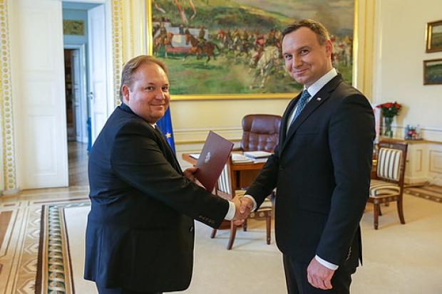 Dr Konrad Dziobek społecznym doradcą prezydenta RP