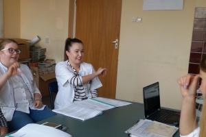 Wideoinfolinia dla osób głuchych, w sprawie koronawirusa