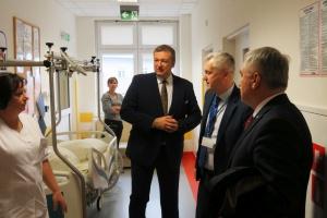 Wiceminister zdrowia potwierdza: w Kielcach powstanie centrum urazowe dla dzieci