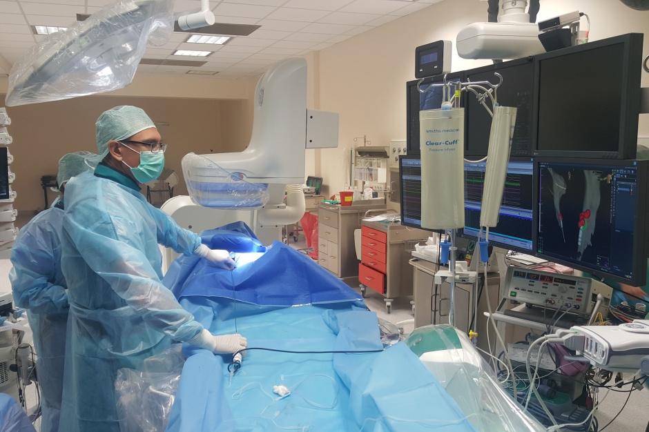 Piła: szpital otrzymał dotację na pracownię elektrofizjologii