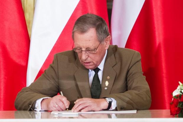 Minister Szyszko o jakości powietrza: ludzie są biedni, a dobry węgiel kosztuje