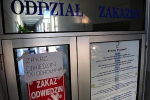 Białystok: zakaz odwiedzin pacjentów w Uniwersyteckim Szpitalu Klinicznym