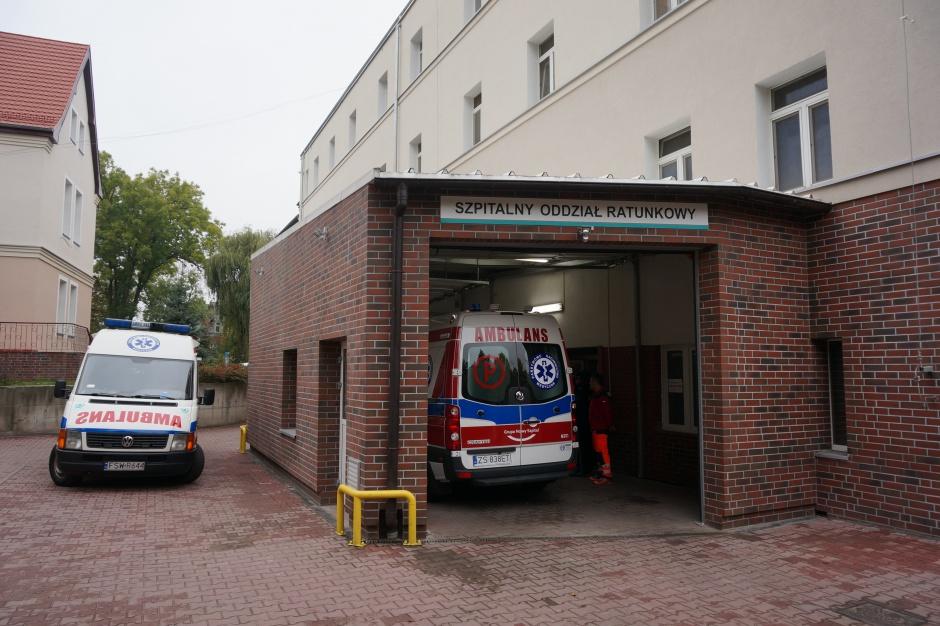 Świebodzin: szpital ma nowy sprzęt do laparoskopii i lądowisko