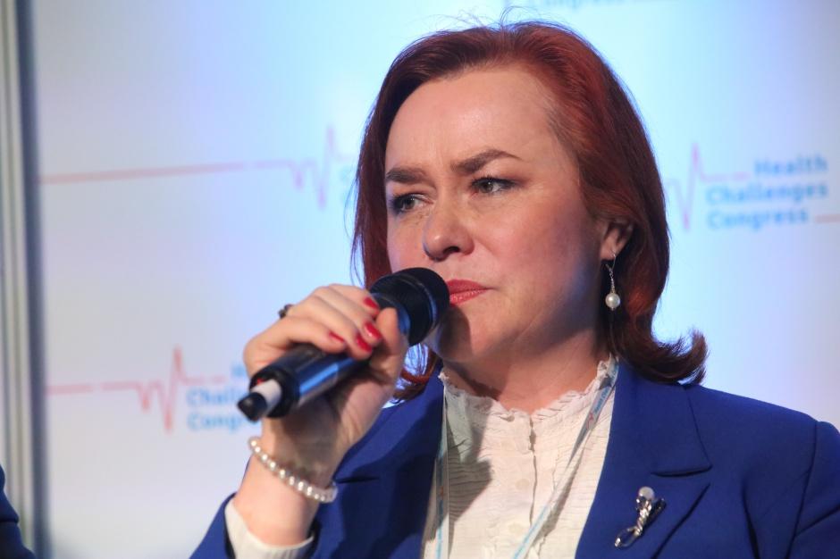 Lidia Gądek: brakuje nam systemu motywującego pacjenta do dbania o zdrowie