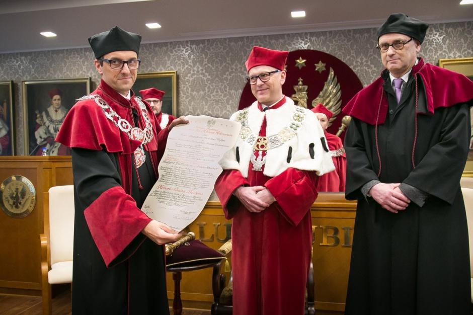 Wybitny hematolog prof. Niederwieser doktorem honoris causa WUM