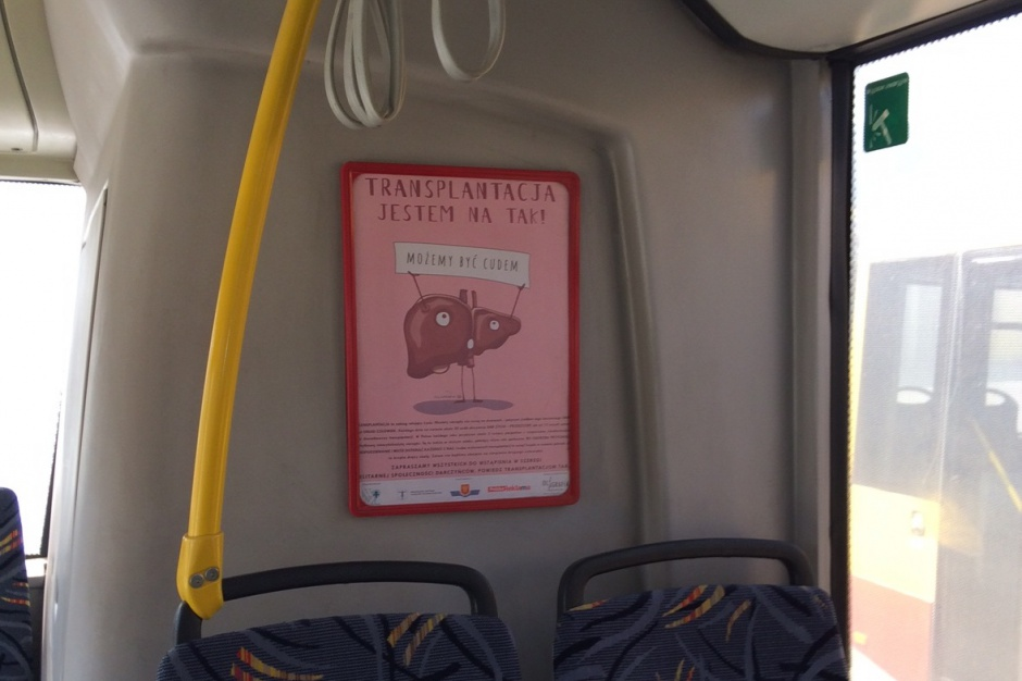 Kielce: tak promują ideę transplantacji