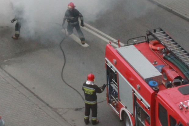 Dolnośląskie: spłonął budynek Zakładu Przyrodoleczniczego w Szczawnie-Zdroju