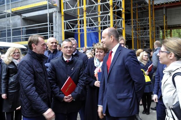 Gdańsk: na budowie Centrum Medycyny Nieinwazyjnej zawisła wiecha