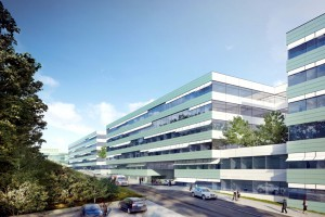 Gdańsk: Centrum Medycyny Nieinwazyjnej - budowa trwa