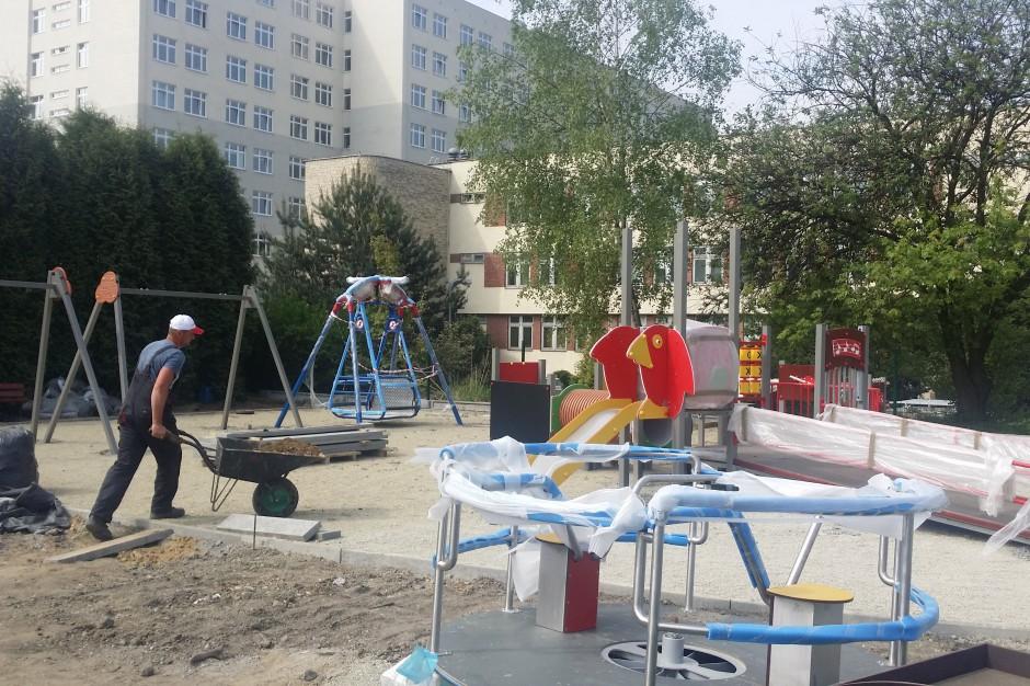 Powstał pierwszy w Kaliszu plac zabaw dla dzieci niepełnosprawnych