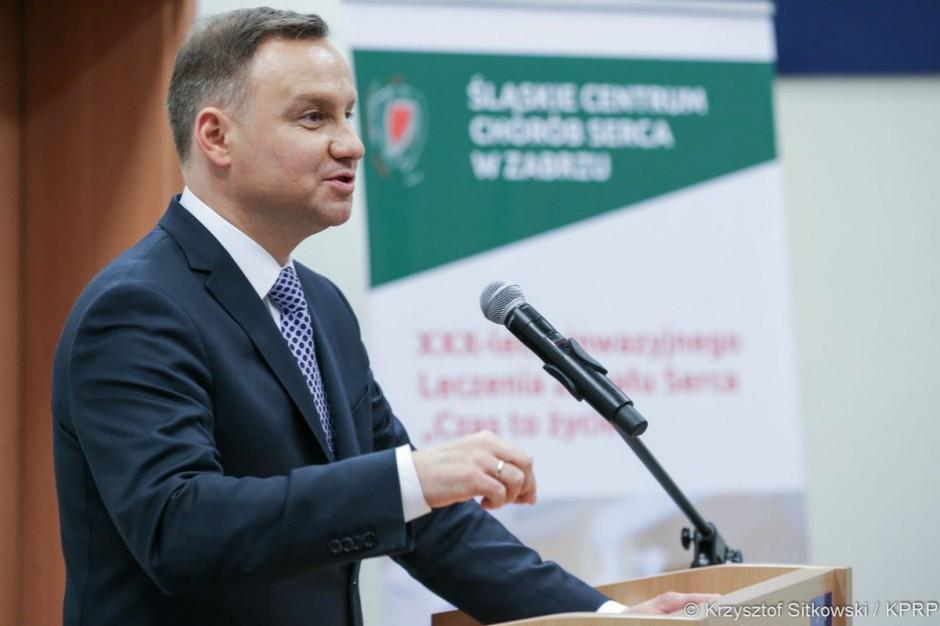 Prezydent o reformie zdrowia: nie da się zrealizować w czasie jednej kadencji parlamentu