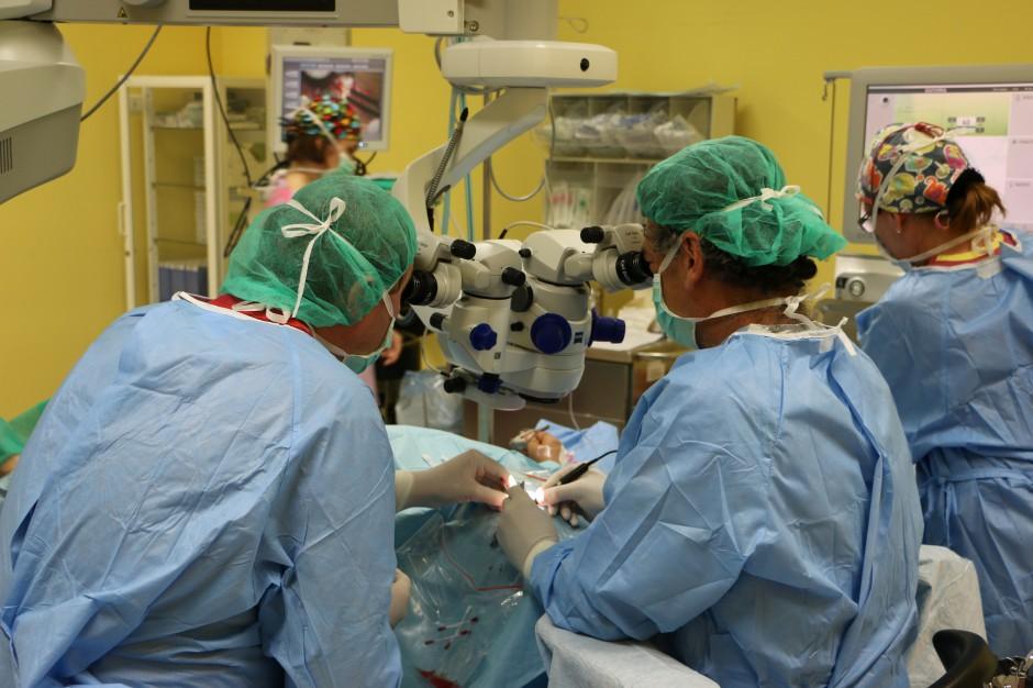 Katowice: przeszczepili rogówki wyhodowane z komórek macierzystych