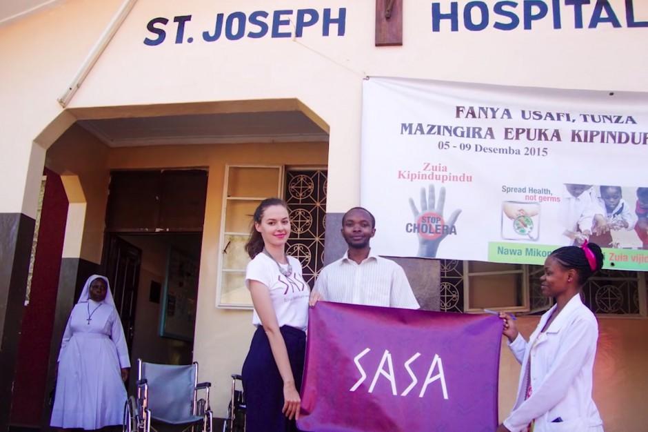 Nasi studenci pomagają szpitalowi w Tanzanii. Przed nimi kolejna misja