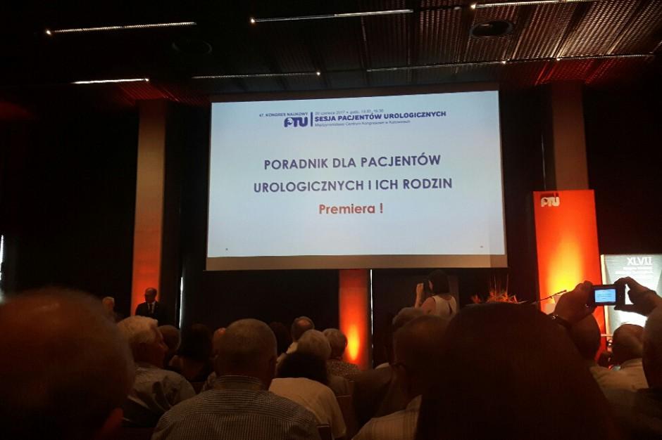 Katowice: premiera poradnika dla pacjentów urologicznych i ich rodzin