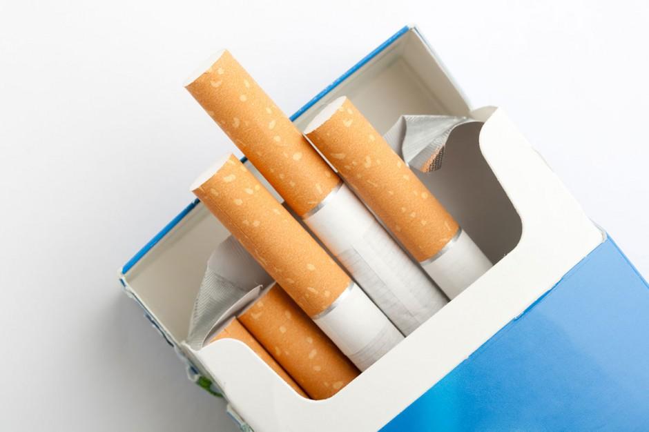 Drastycznym obrazkiem w palacza