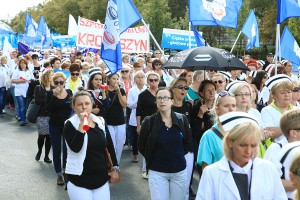 Protest pracowników medycznych, czyli nie chodzi tylko o pieniądze