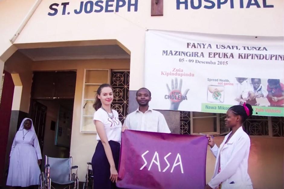 Pomagają szpitalowi w Tanzanii