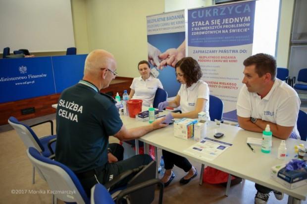Kampania: ścigali się z cukrzycą w kilku ministerstwach