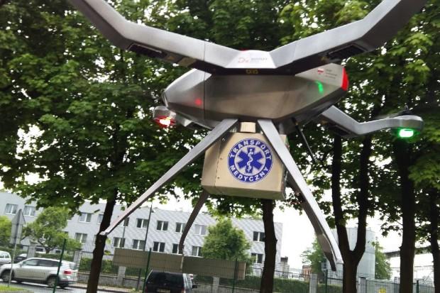 System dronów transportujących krew już za dwa lata?