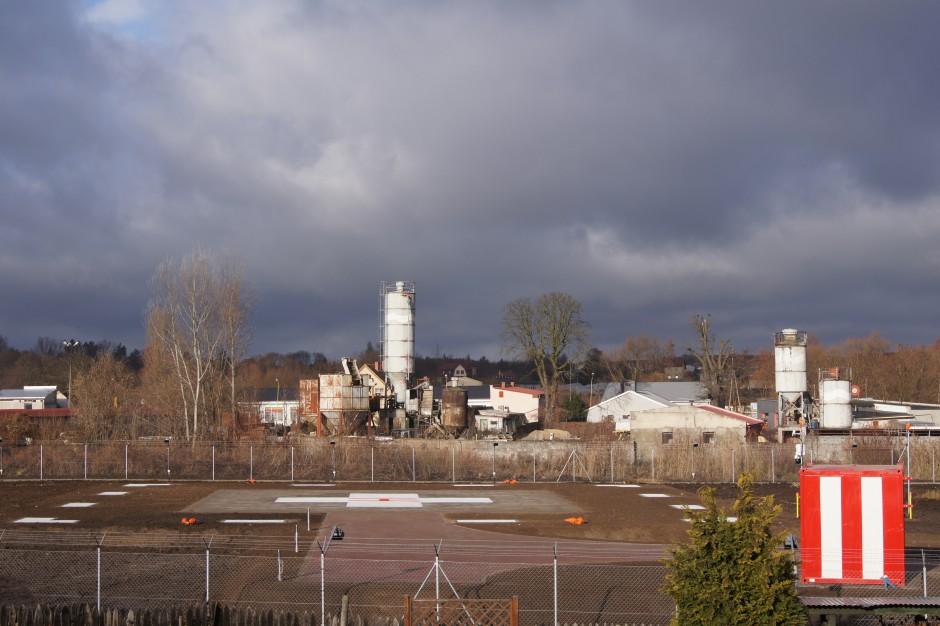 Świebodzin: nowe lądowisko gotowe do przyjmowania śmigłowców LPR