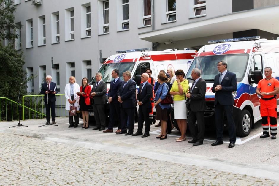 Skierniewice: szpital ma nowe ambulanse, rozpoczną pracę 1 września