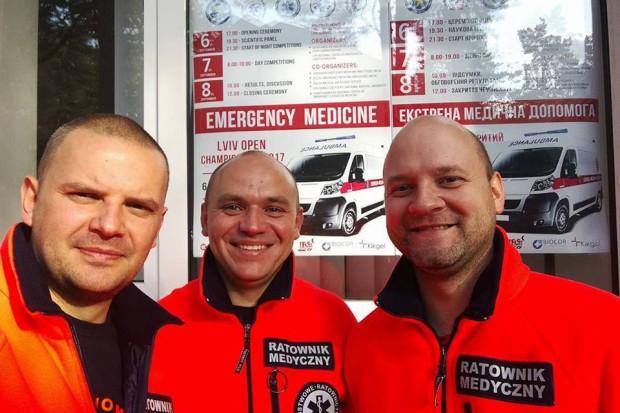Krakowsy ratownicy medyczni wygrali we Lwowie