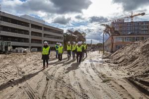 Toruń: minął rok od rozpoczęcia budowy szpitala na Bielanach