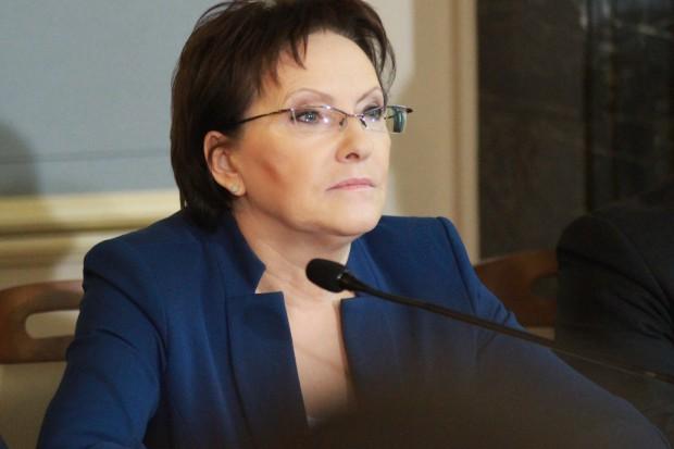 Ewa Kopacz o lekarzach rezydentach: powinni także korzystać ze wzrostu PKB