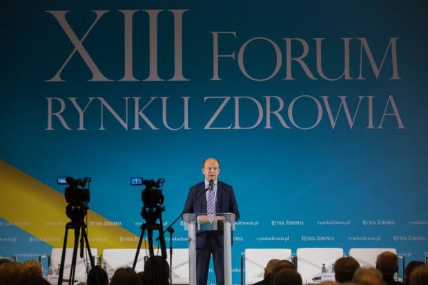Radziwiłł na XIII Forum Rynku Zdrowia: ten wzrost PKB na zdrowie to jest dla nas rewolucja