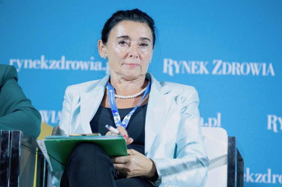 Prof. Alicja Chybicka o proteście rezydentów: padło na ten rząd