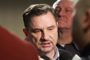 """Sejm: trwa spotkanie szefa """"Solidarności"""" z protestującymi"""