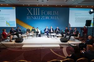 XIII Forum Rynku Zdrowia: sesja inauguracyjna