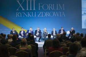 """XIII Forum Rynku Zdrowia: sesja """"Polskie e-Zdrowie, cz. II"""""""