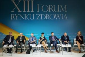 """XIII Forum Rynku Zdrowia: sesja """"Koordynowana opieka zdrowotna"""""""
