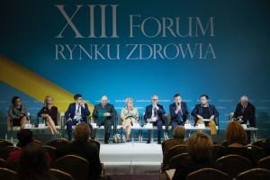 """XIII Forum Rynku Zdrowia: sesja """"Dialog społeczny w ochronie zdrowia"""""""