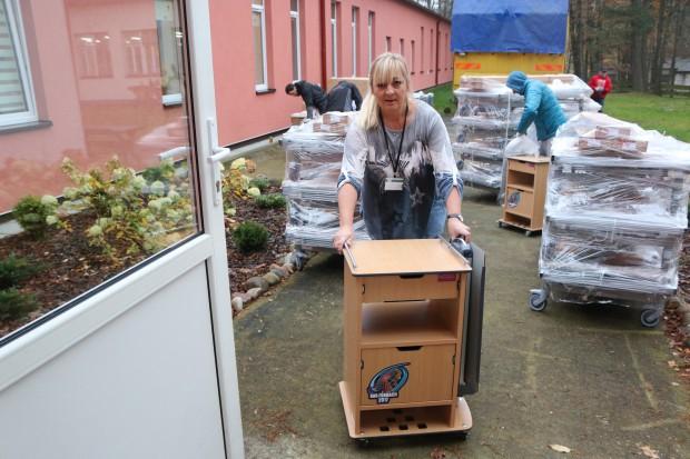 Nina Andrycz przekazała spadek na WOŚP