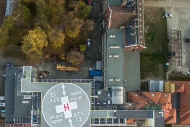 Kępno: szpital ma już lądowisko dla śmigłowców