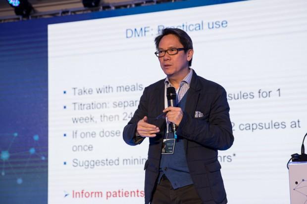 Prof. Chan: leczenie SM trzeba zaczynać tuż po postawieniu rozpoznania