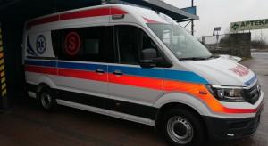 Nowy Szpital w Olkuszu ma nowoczesny ambulans