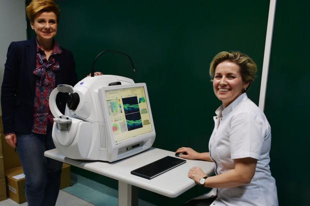 Kędzierzyn-Koźle: szpitalna poradnia okulistyczna z nowym sprzętem