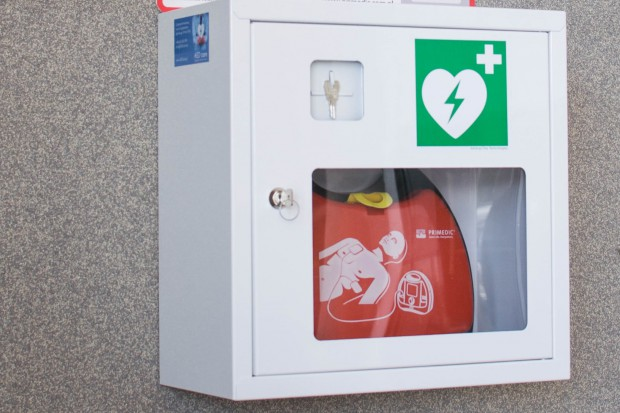 Białystok: defibrylatory już dostępne w kilkunastu miejscach w mieście