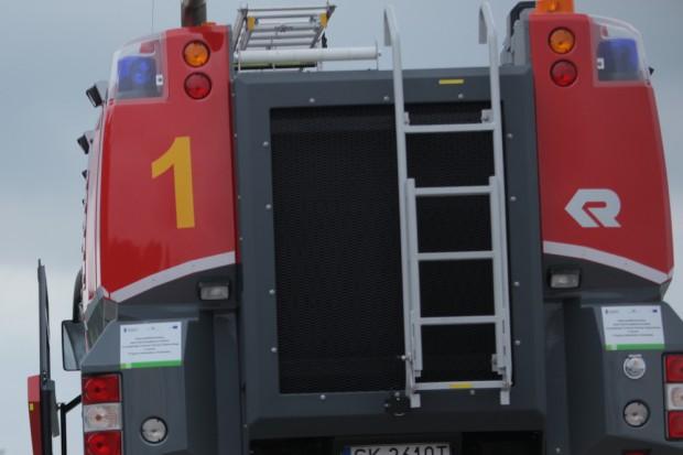 Oświęcim: pacjent podpalił łóżko, strażacy oddymili salę