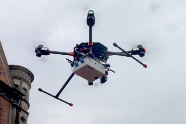 Szczecin: miasto kupi drona do walki ze smogiem