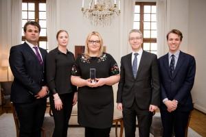 Polska studentka wyróżniona Nagrodą Pielęgniarską Królowej Sylwii