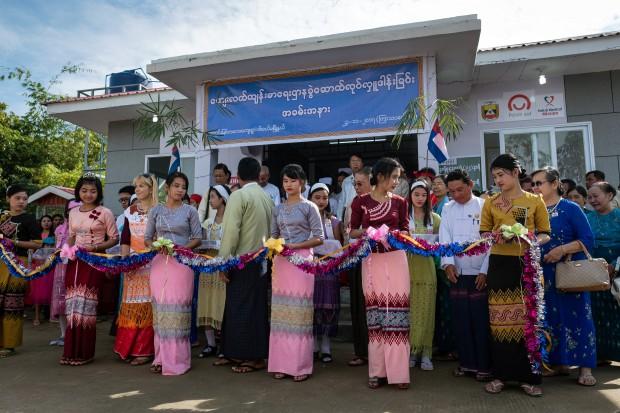 Polska Misja Medyczna wybudowała w Mjanmie ośrodek zdrowia