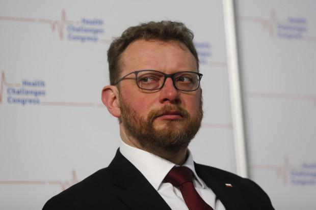 Szumowski: to porozumienie jest odpowiedzią na postulaty środowiska pielęgniarek i położnych
