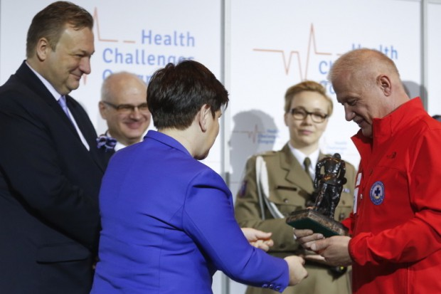 HCC 2018: wicepremier Szydło wręczyła Nagrody Animus Fortis