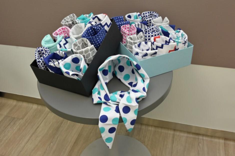 Katowice: uszyto 260 chust dla pacjentek onkologicznych